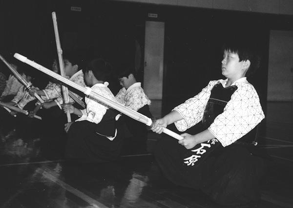 文武両道。剣道やピアノも習いました。